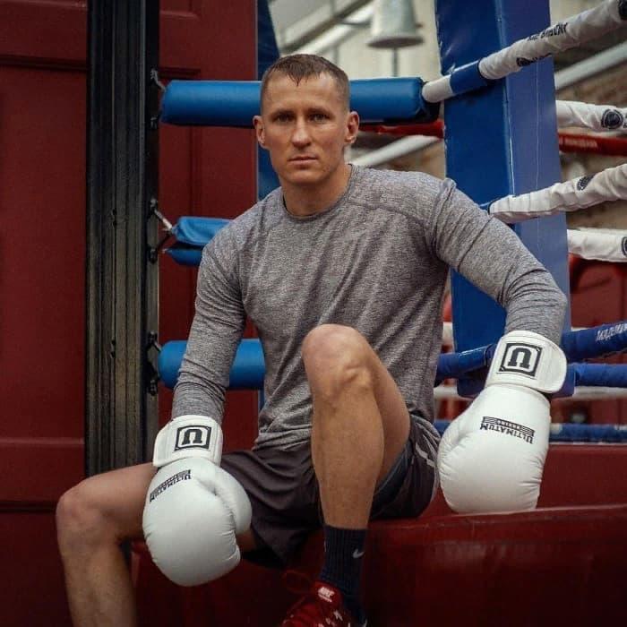 Трояновский в Академии бокса фото