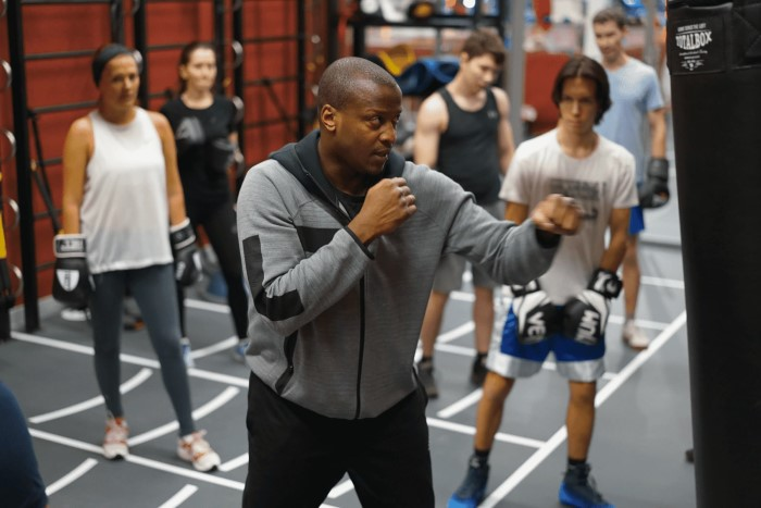 Тренировка Академия бокса фото