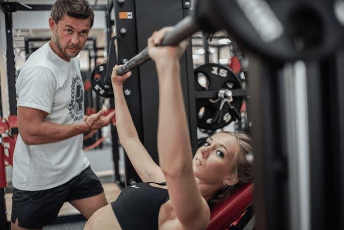 Персональные занятия фитнесом