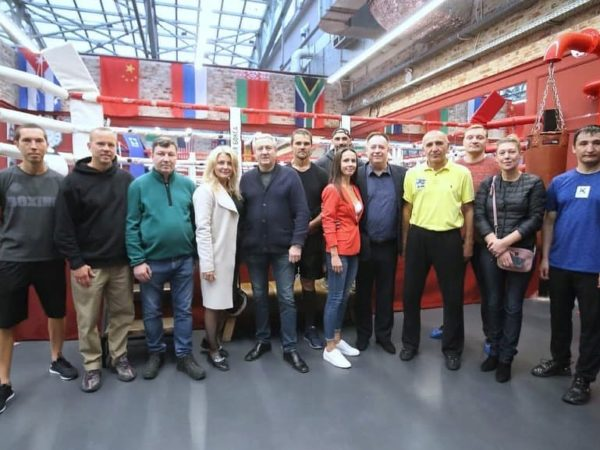 Мастер класс Нурмагомеда Шанавазова в Академии бокса