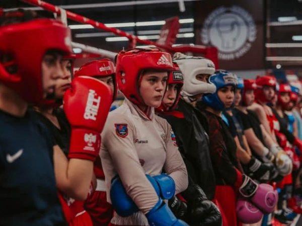 Тренировка юниорской сборной Москвы в Академии бокса фото