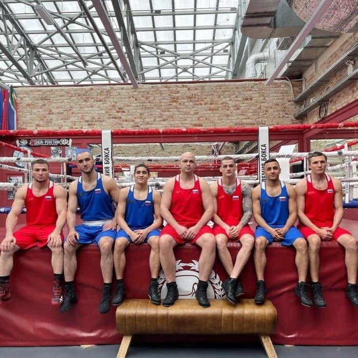 Олимпийская сборная в Академии бокса! фото