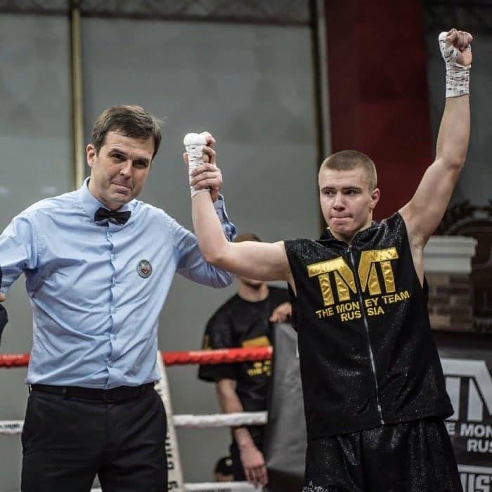 Мышев в Академии бокса фото