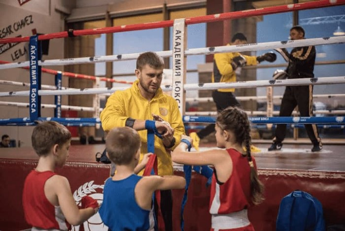 Дети Академия бокса фото