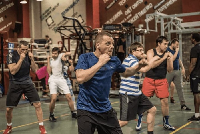 Мужчины Академия бокса фото